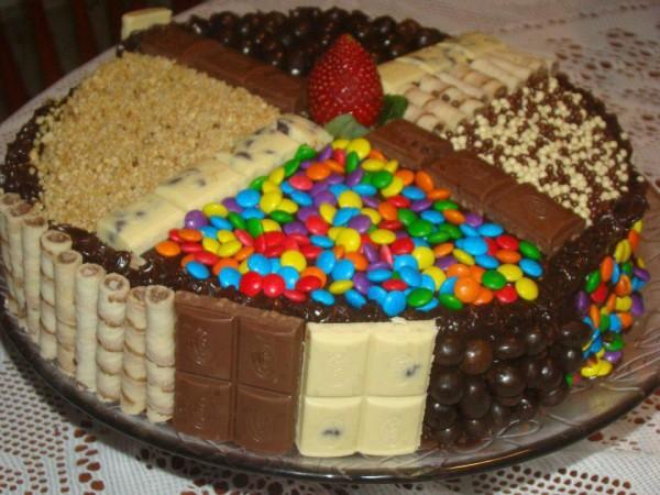 Торт на день рождения своими руками с фото