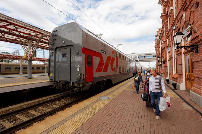Тест-драйв двухэтажного поезда Москва — Казань