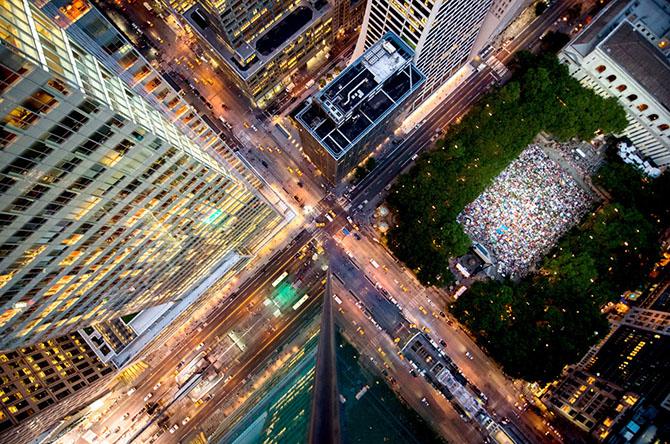 Нью-Йорк с высоты небоскрёбов