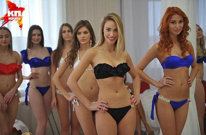 Участницы конкурсов красоты в ссср
