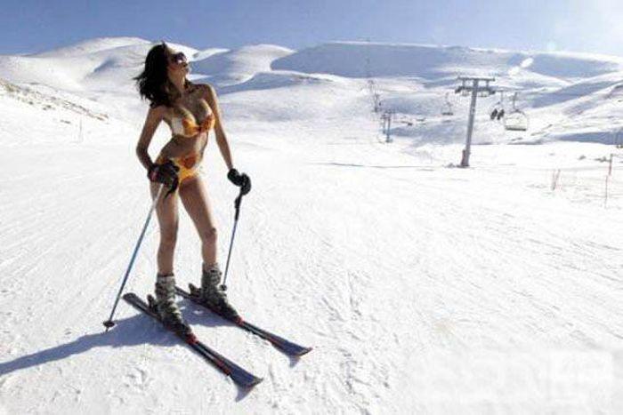 фото голых сноубордисток и алпенисток