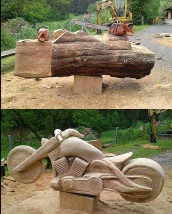 Крутые изделия из дерева
