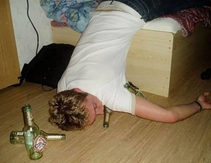 Картинки, прикольные картинки пьяного человека