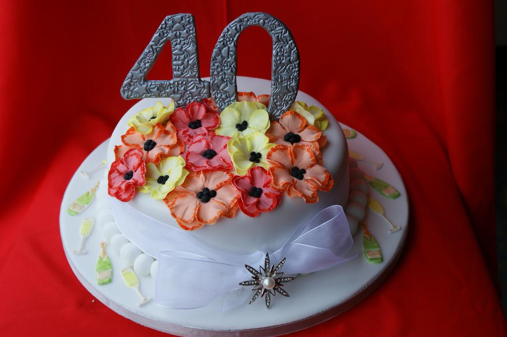 Фото день рождения 40 лет женщине