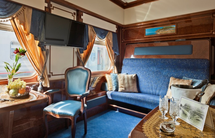 What are the most luxurious trains