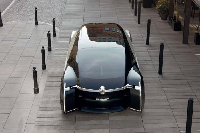Concept car of the future from Renault