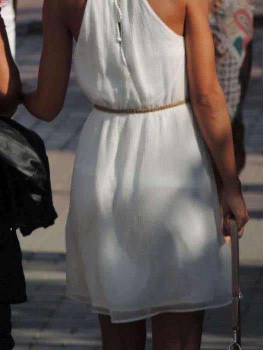 Фото через прозрачные платье 100