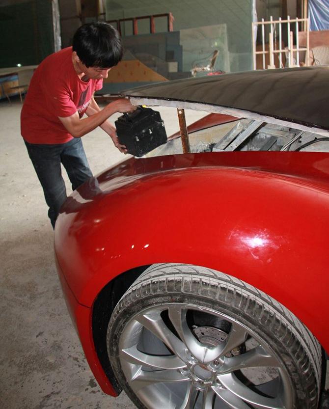 DataLife Engine Версия для печати Шикарный автомобиль созданный своими руками