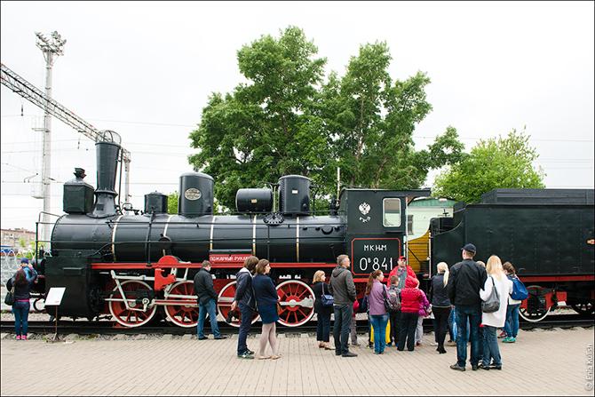Gran aventura locomotora de vapor.