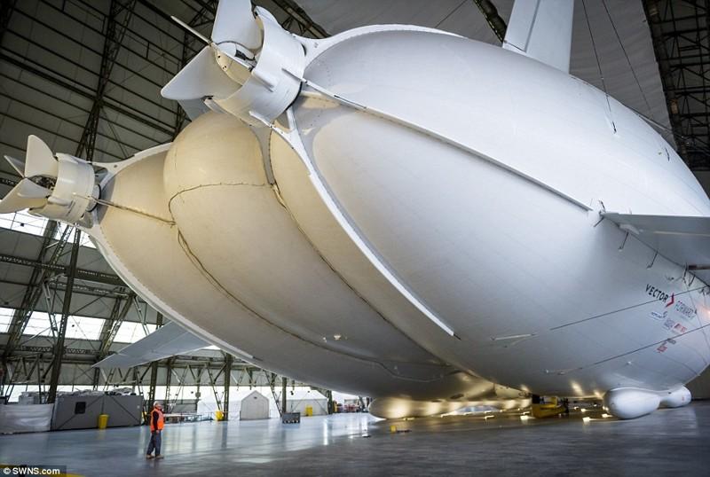 Фото самого большого ангара в мире