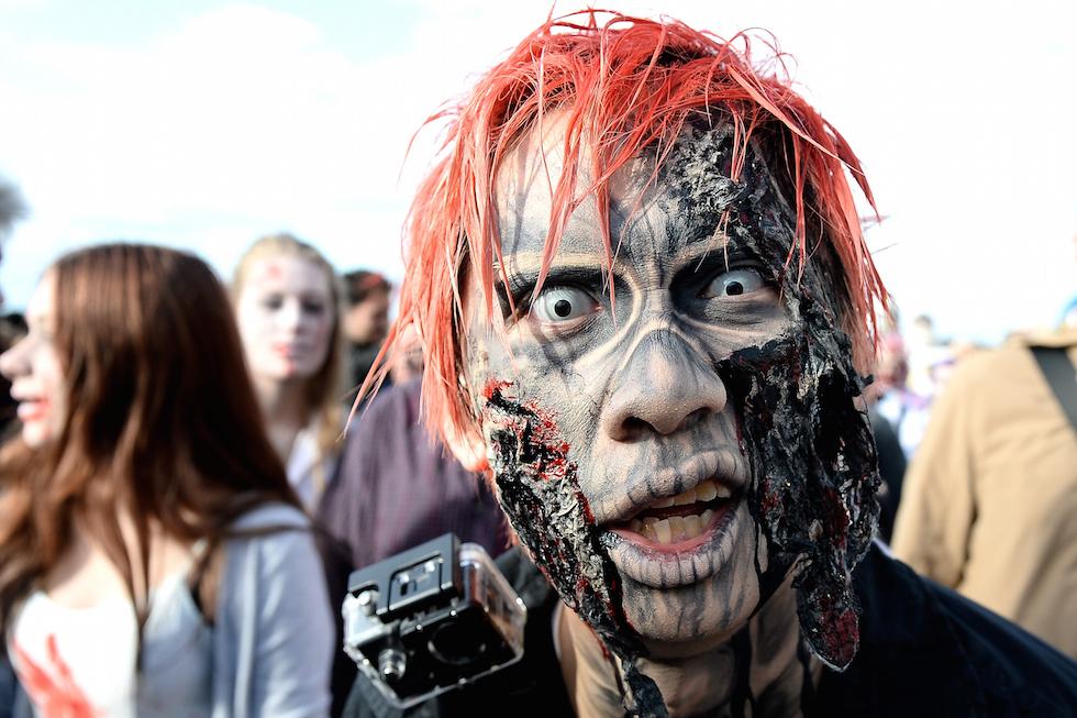 покажи картинки про зомби