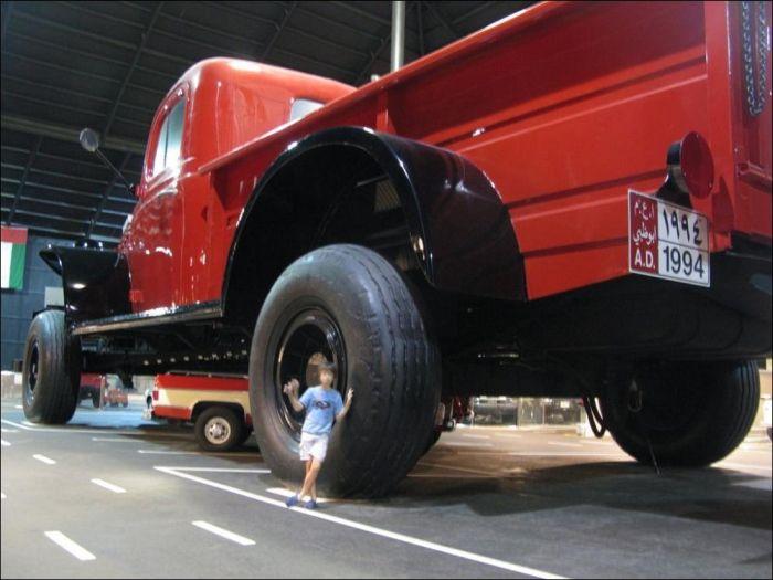 Самая высокая машина мира