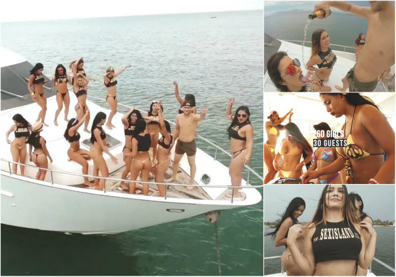 Unlimited sex, alcohol and drugs on a private island - all this for only $ 5,000
