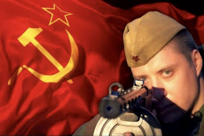 How did the Soviet soldiers eat?