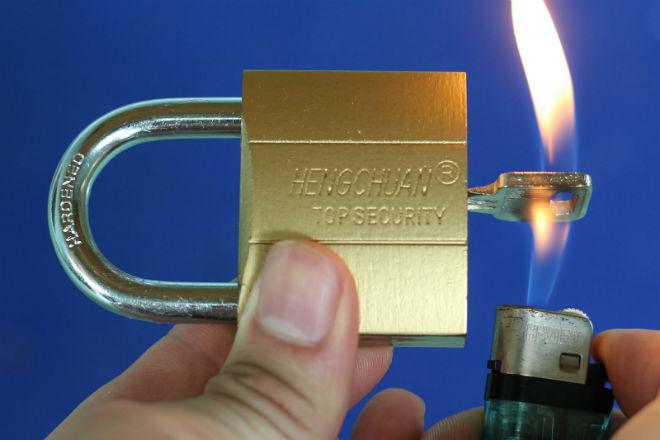 Amazing life hacking with locks