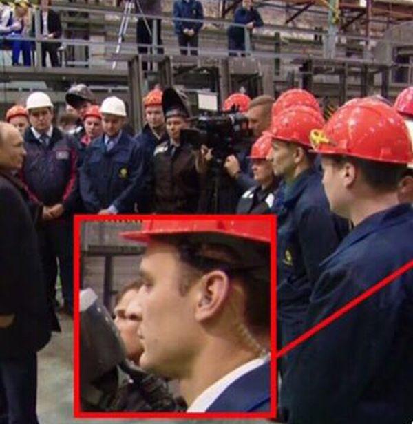 Необычное окружение Владимира Путина на ТВЗ