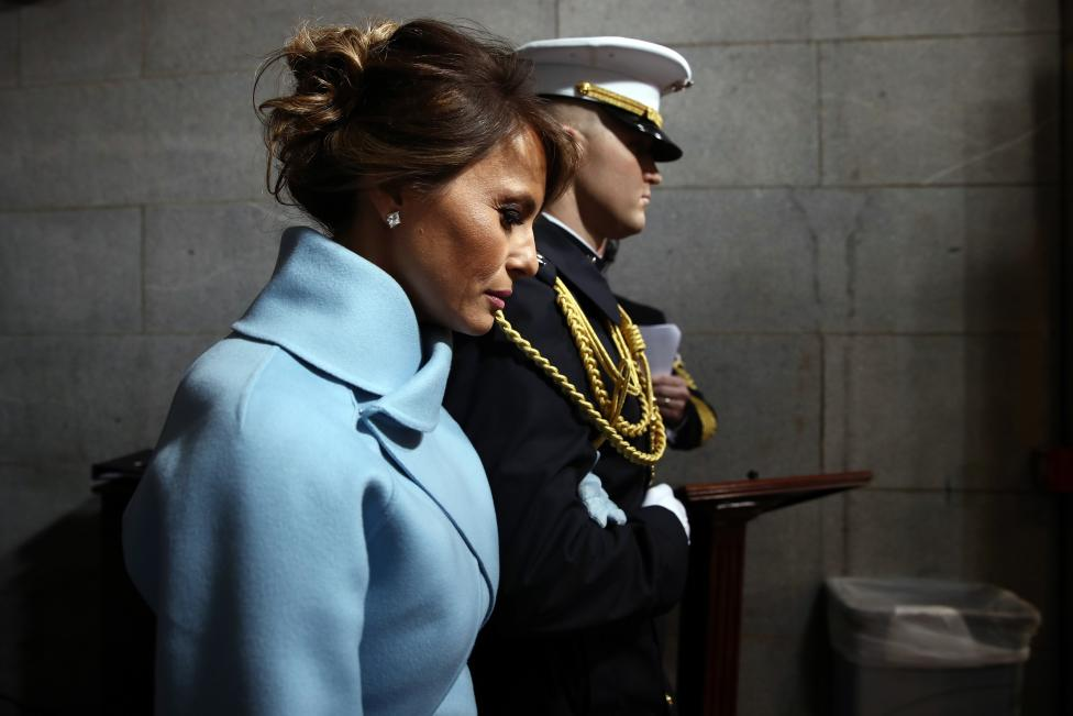 A woman with whom the world does not take her eyes: the first lady of the United States, Melanya Trump, after the inauguration