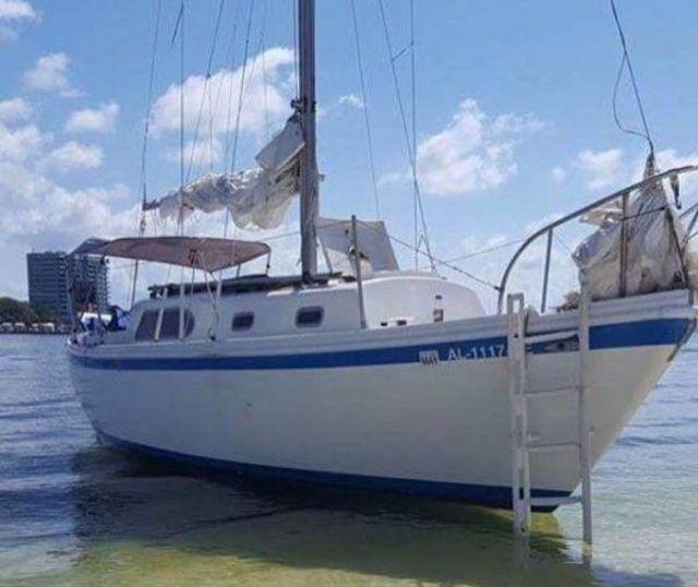 Затонувшая яхта и спасенный друг