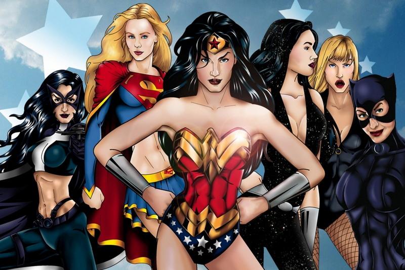 Самые сексуальные женщины супергерои