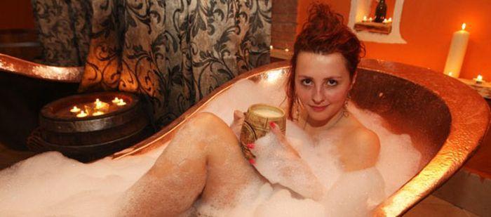 Фото голі баби в бані