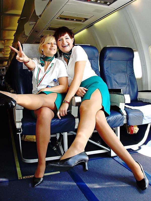 Сексапильные стюардесы