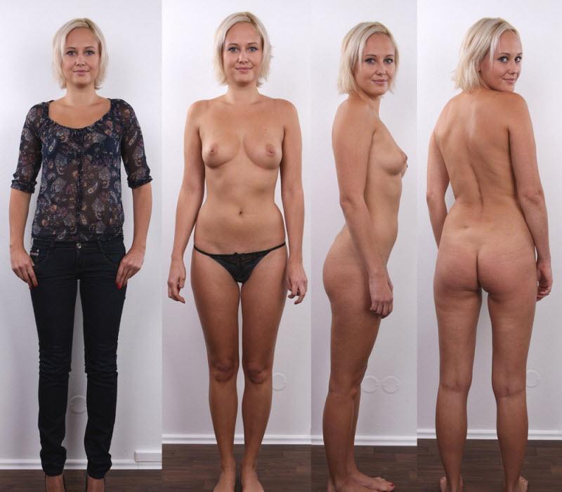 двойные фото женщин голой и одетой