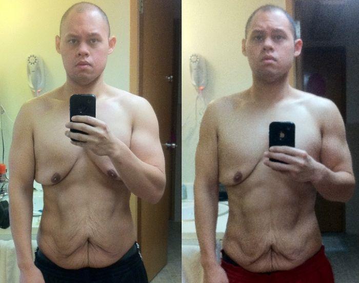 Сильно похудеть мужчине в