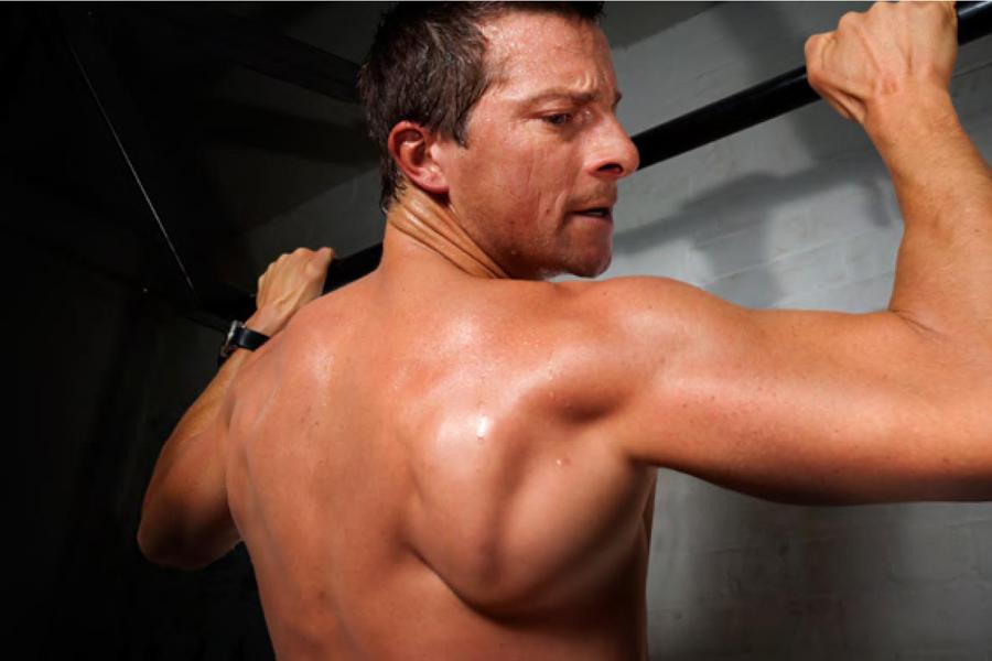 Lifehacks on fitness from Bear Grylls