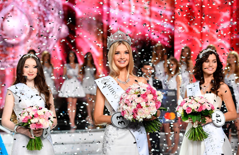 В россии выбрали самую красивую девушку