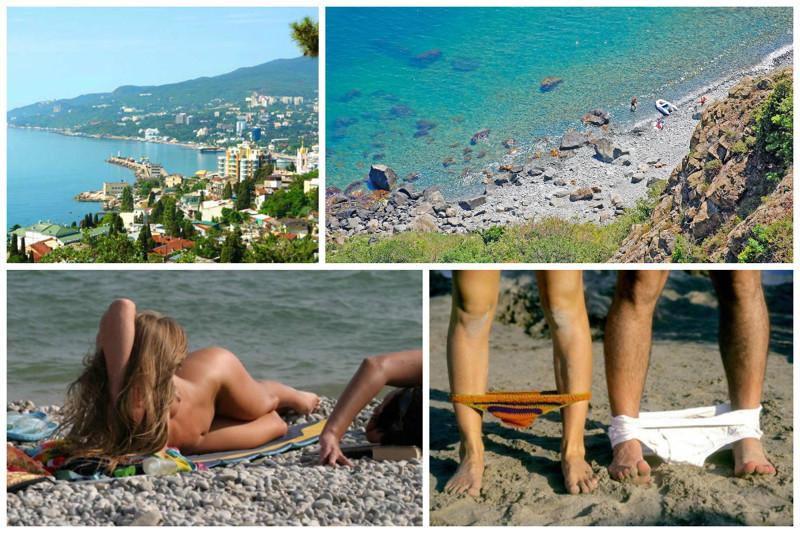 Видео фото с нудистских пляжей и