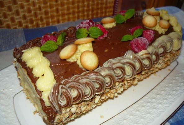 торт рулет сказка рецепт и фото