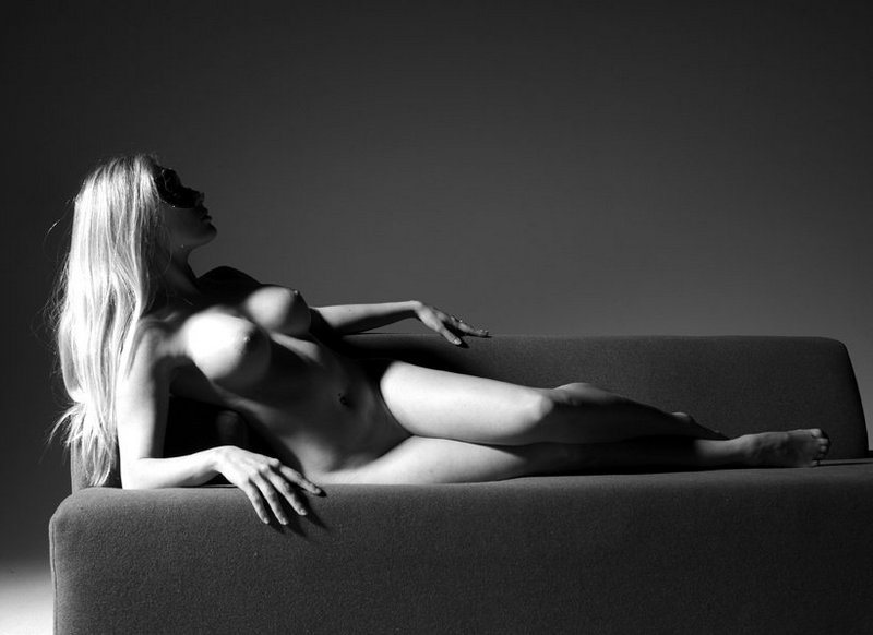 черно белое фото эротика