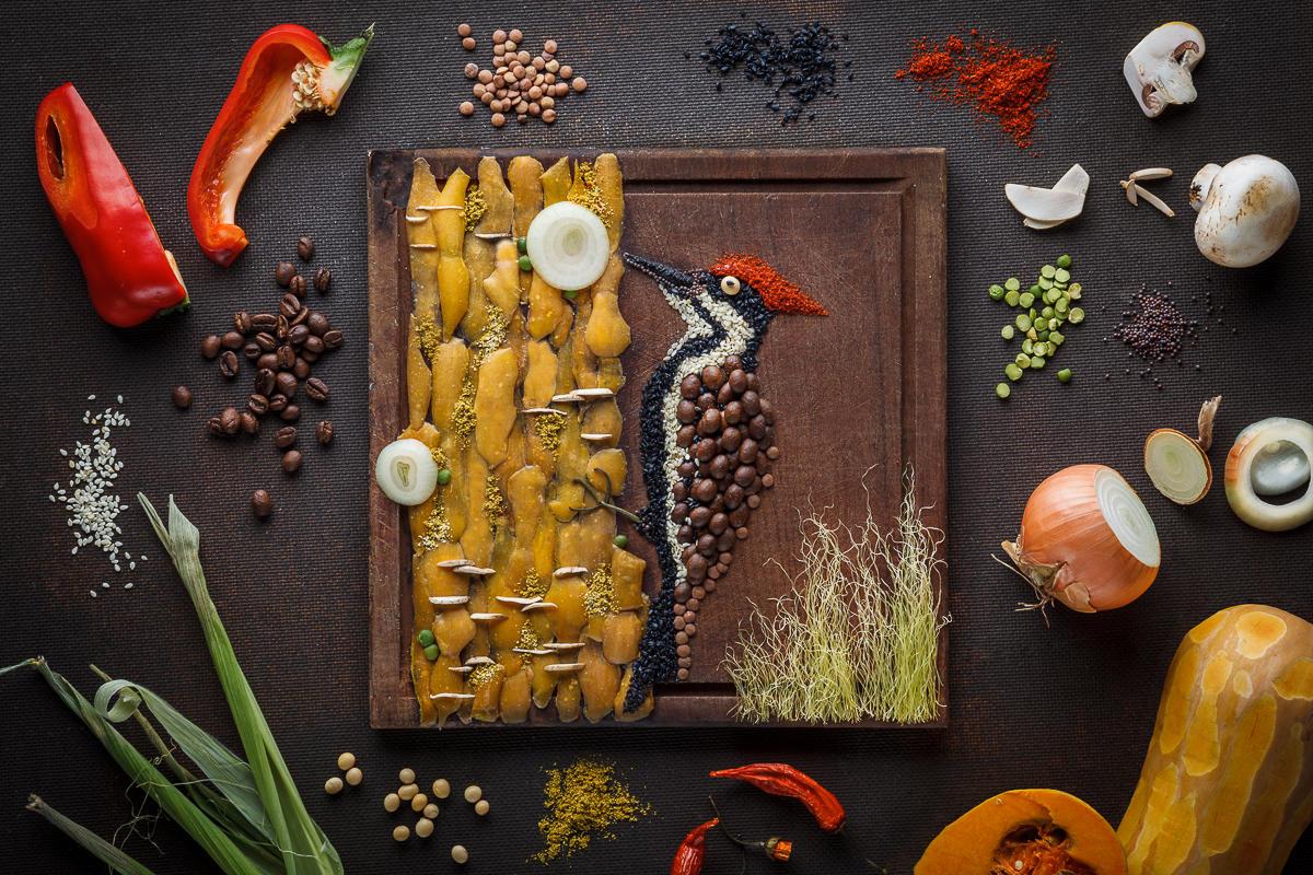 выявляются только картинки сделанные из еды общем-то, это