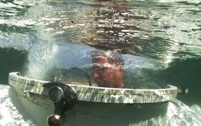 видео из душа подводной лодки