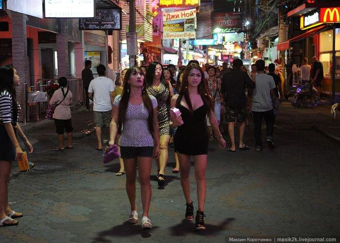 Wolking street тайланд секс видео
