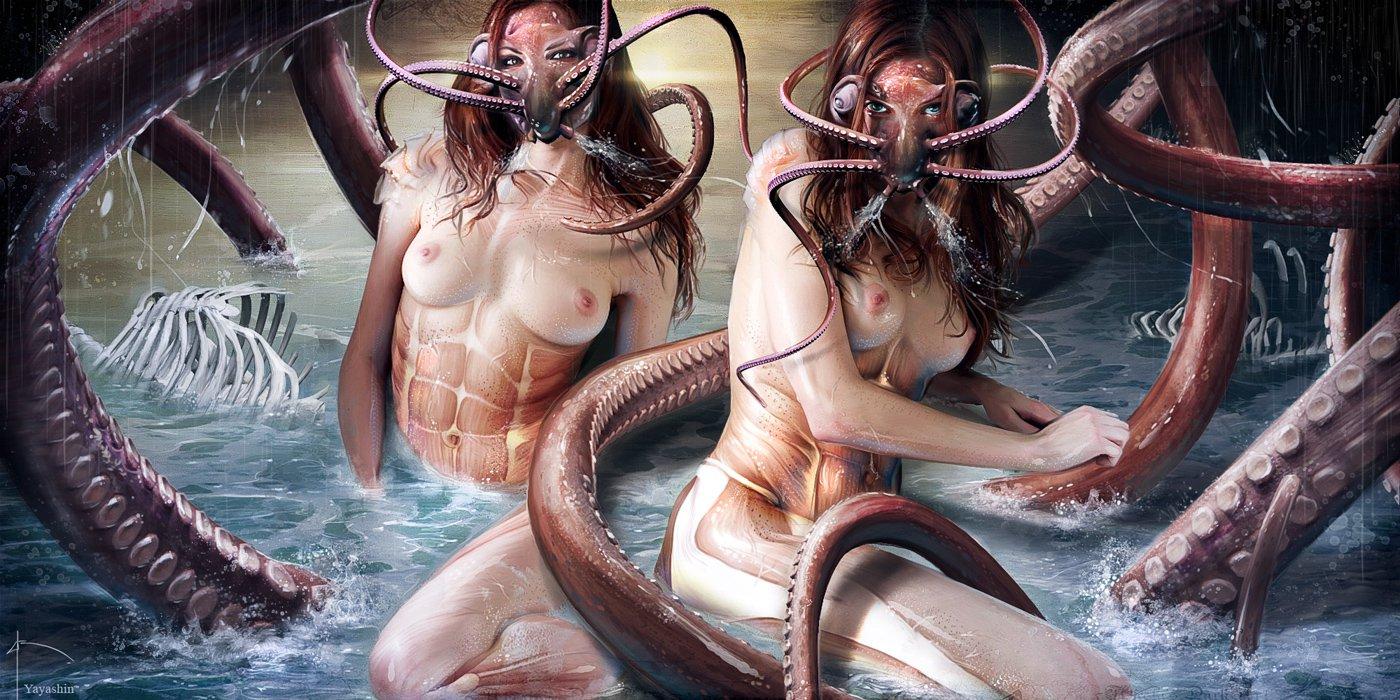 Naked woman octopus, porn good little girl