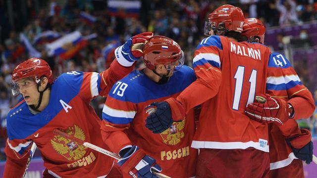 обои на рабочий стол хоккей россия