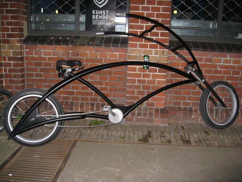 Оригинальный велосипед своими руками