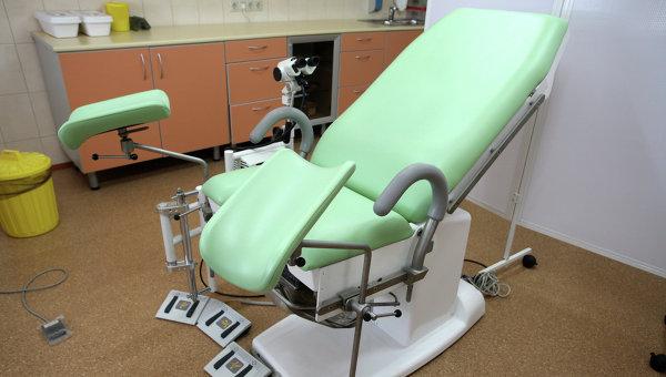фото на кресле гинекологическом