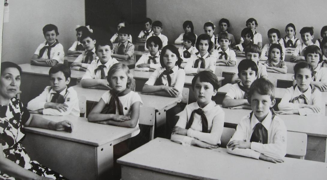 Ссср школа картинки казахстана