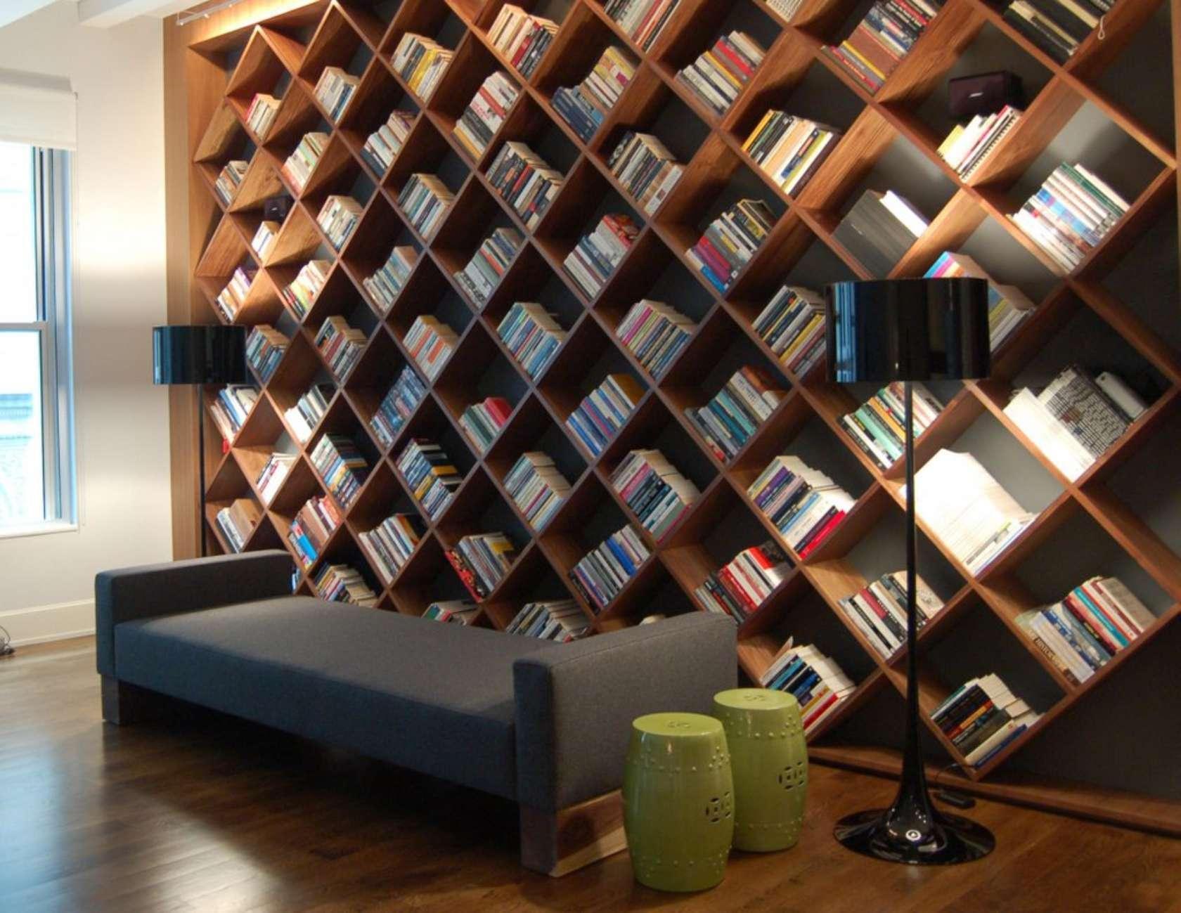 Дизайн домашней библиотеки: оформление интерьера, выбор мебе.