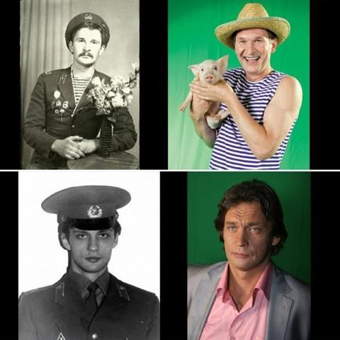 Кто из актеров служил в армии фото