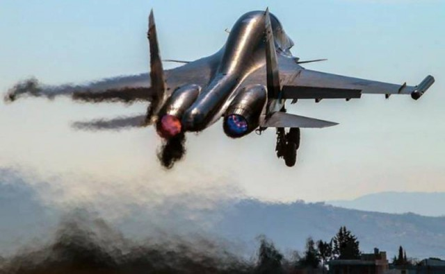Russian HQs have increased the bombing of terrorist groups in Syria