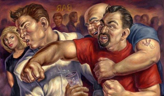 Una pelea en la calle o 10 errores que pueden terminar a tu favor.