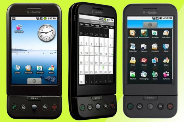Чуть не забыли про 10 лет первому Андроиду!