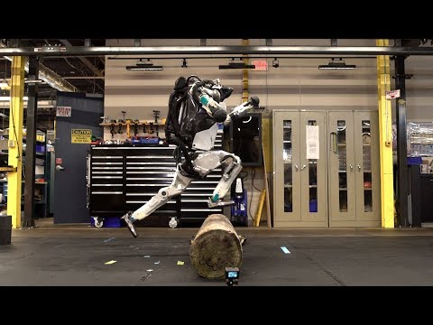 Паркур от Boston Dynamics