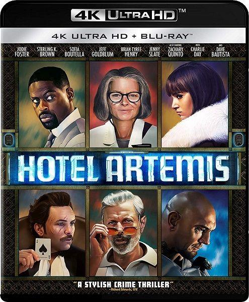 Отель «Артемида» / Hotel Artemis (2018/HDRip)