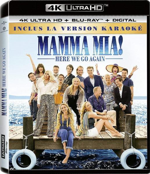 Mamma Mia! 2 / Mamma Mia! Here We Go Again (2018/HDRip)