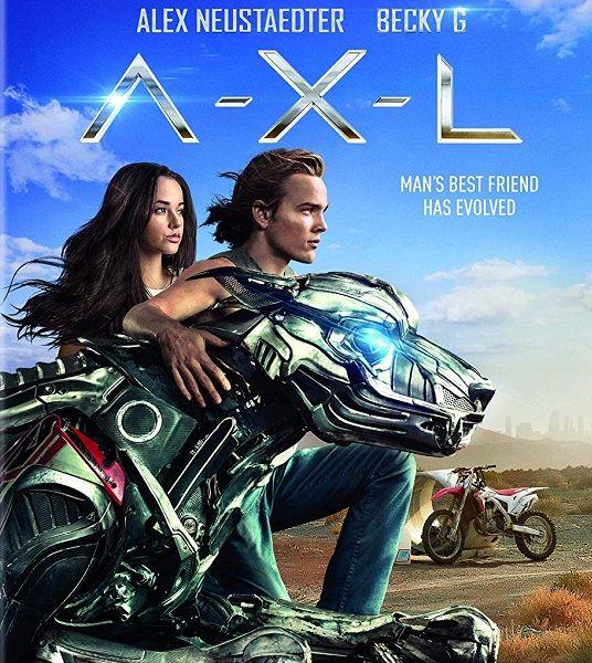 Аксель / A.X.L. (2018/WEB-DLRip)