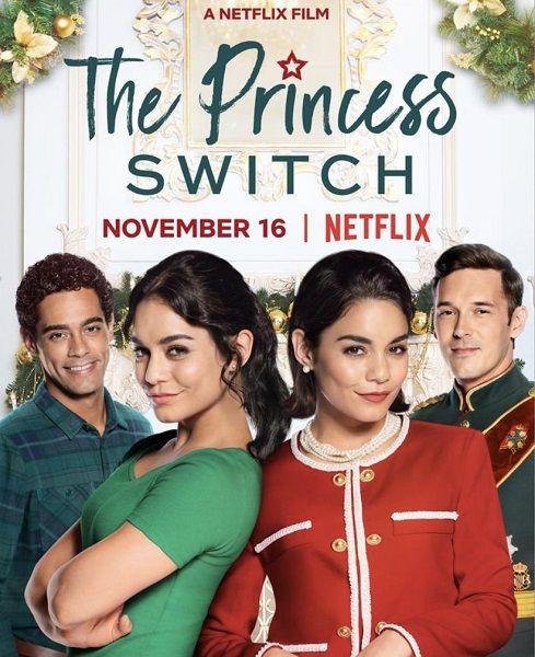 Замена принцессы / The Princess Switch (2018/WEB-DLRip)